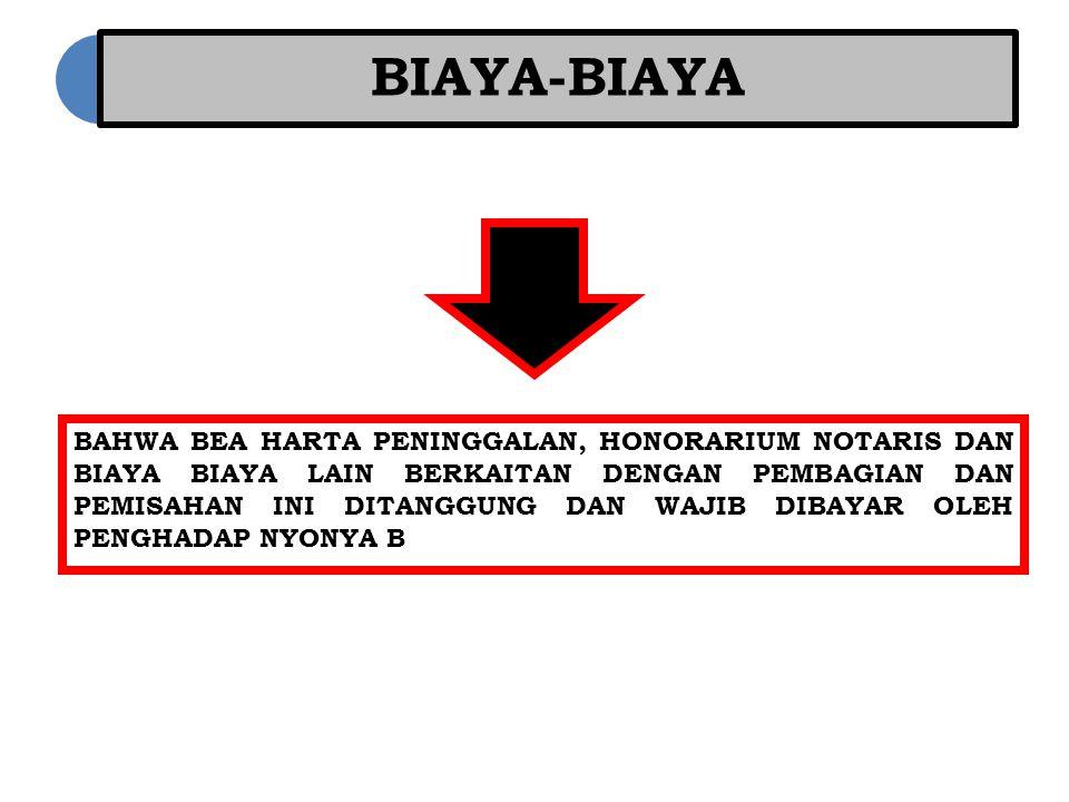 BIAYA-BIAYA