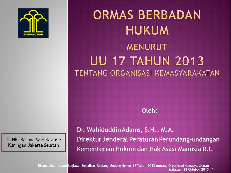 Jl. HR. Rasuna Said Kav. 6-7 Kuningan Jakarta Selatan
