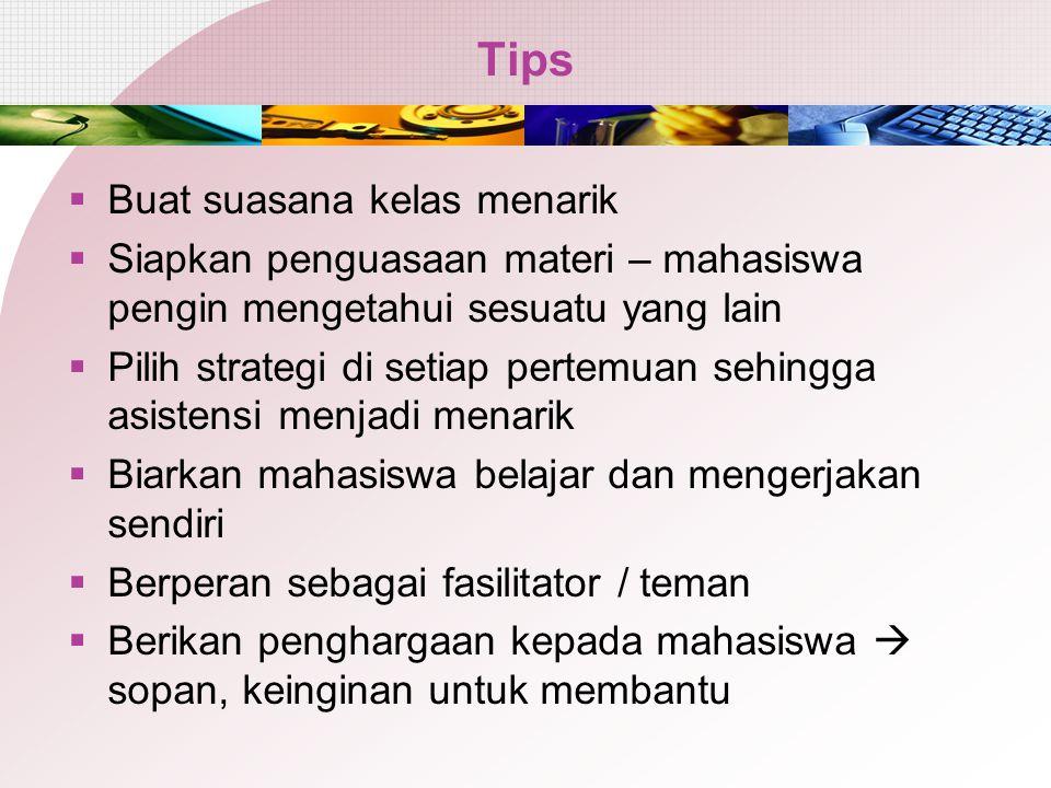 Tips Buat suasana kelas menarik