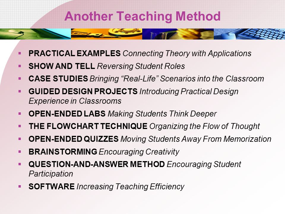 Another Teaching Method