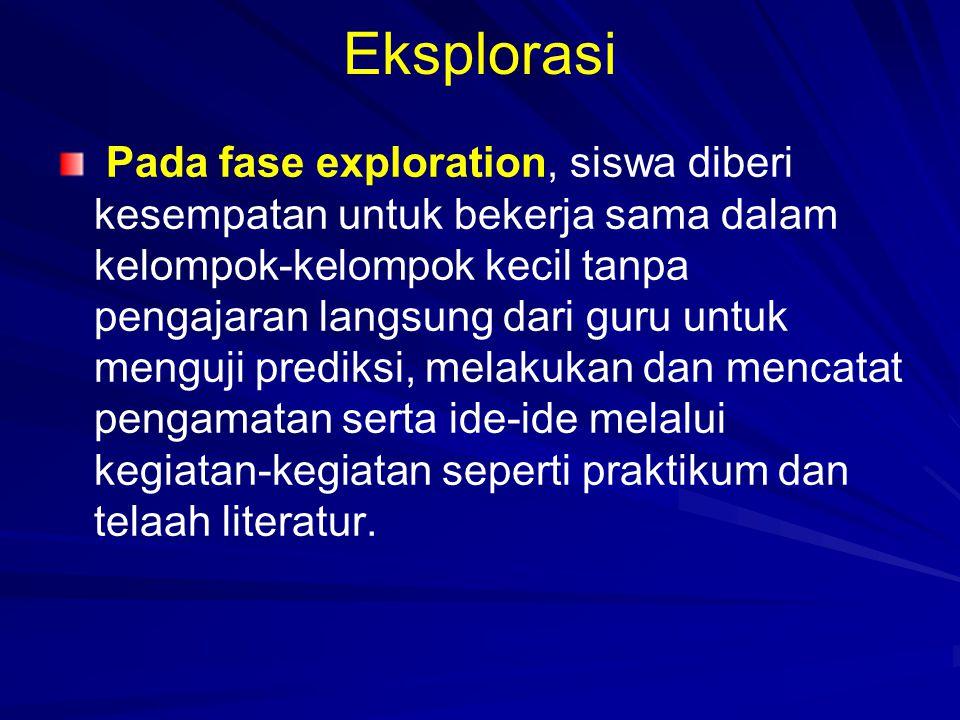 Eksplorasi