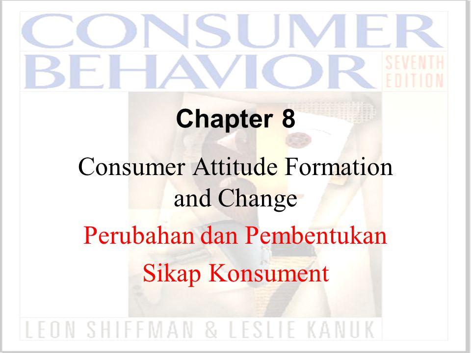 Consumer Attitude Formation and Change Perubahan dan Pembentukan
