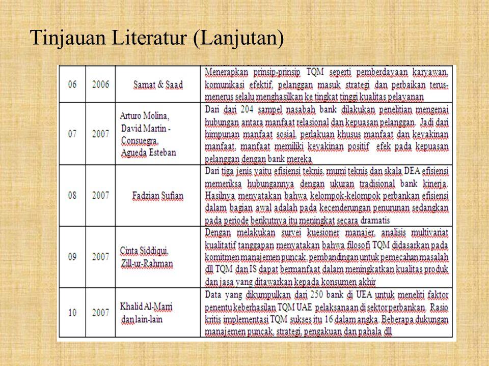 Tinjauan Literatur (Lanjutan)