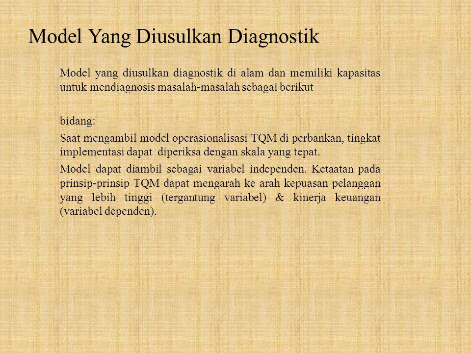 Model Yang Diusulkan Diagnostik