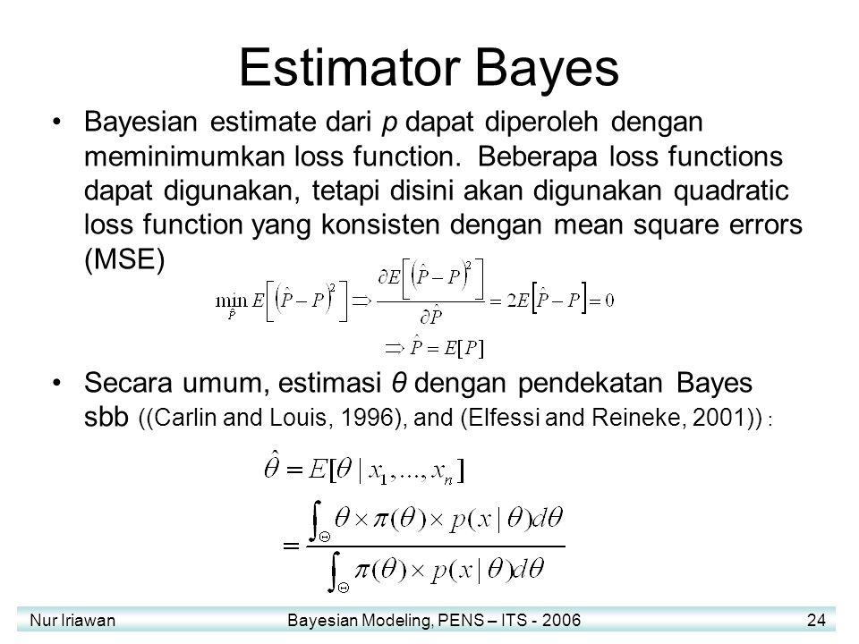 Estimator Bayes