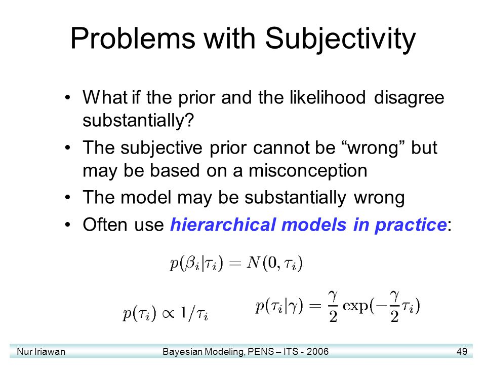 Problems with Subjectivity