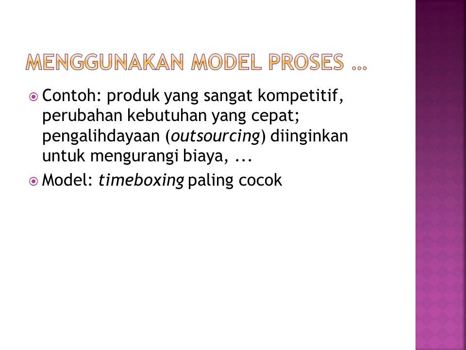 Menggunakan Model Proses …