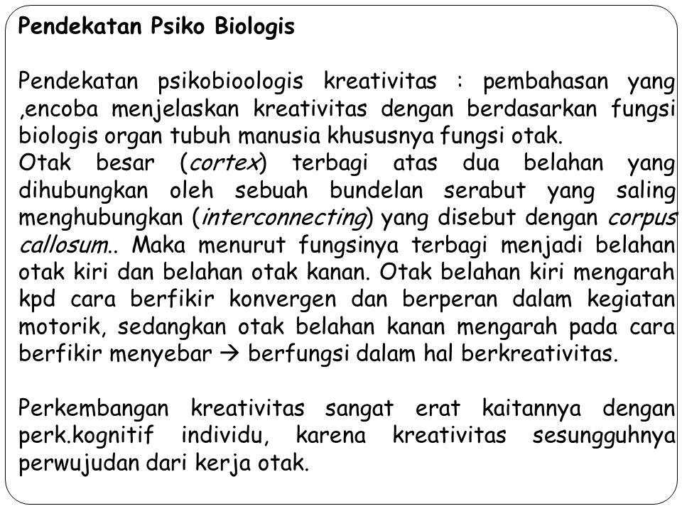 Pendekatan Psiko Biologis