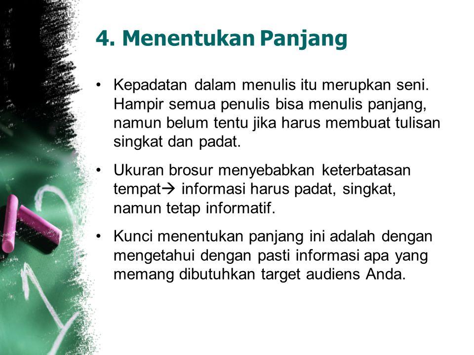 4. Menentukan Panjang