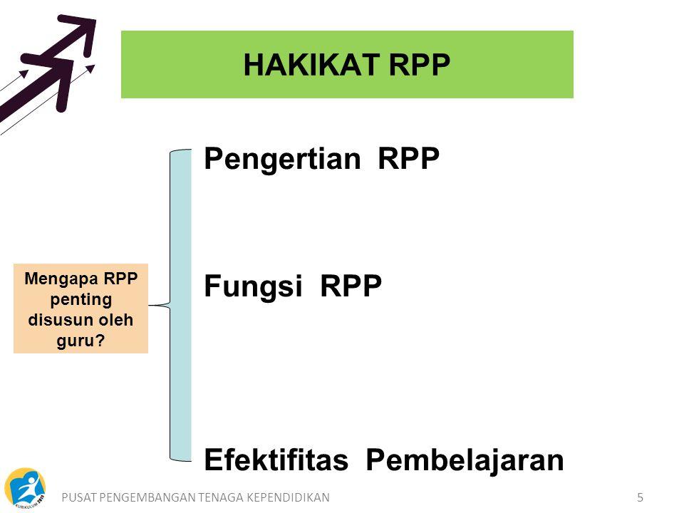 Mengapa RPP penting disusun oleh guru