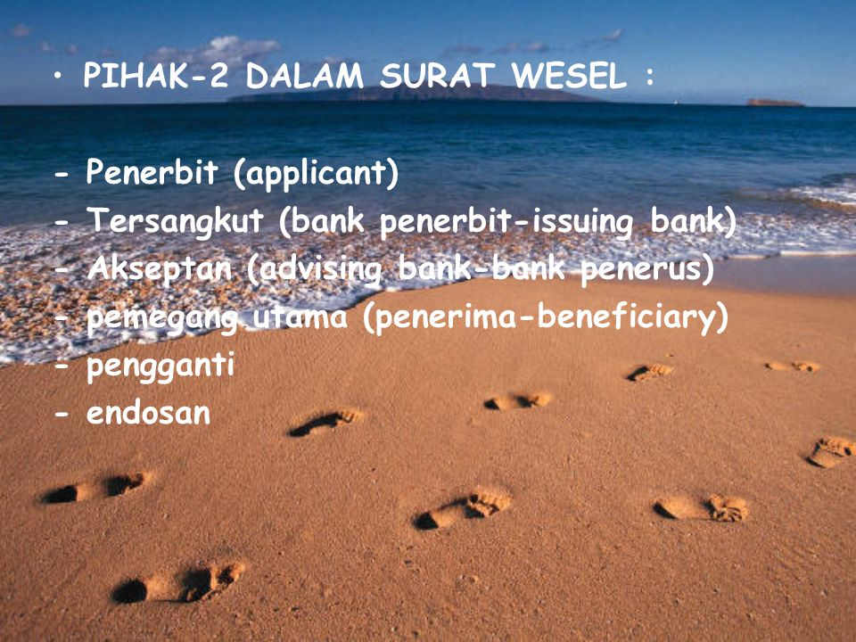 PIHAK-2 DALAM SURAT WESEL :
