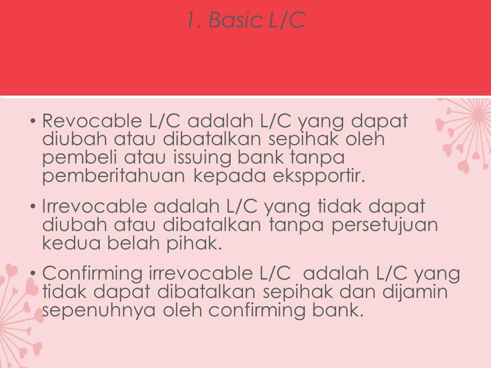 1. Basic L/C