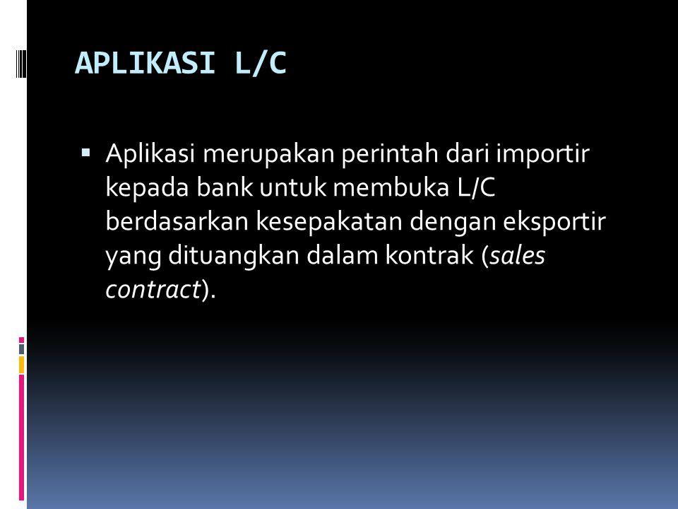 APLIKASI L/C