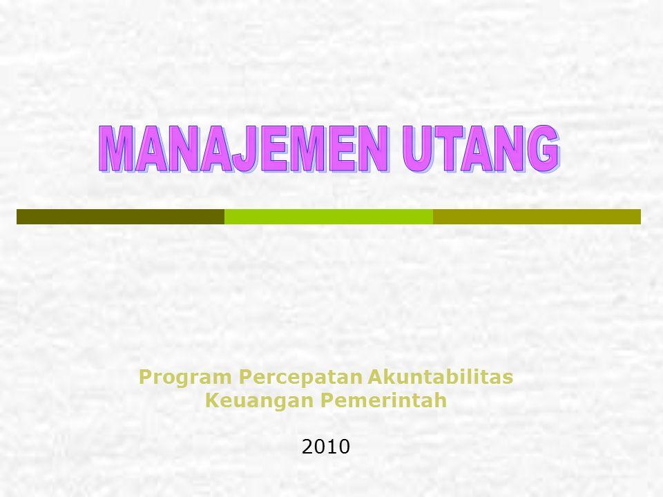 Program Percepatan Akuntabilitas Keuangan Pemerintah 2010