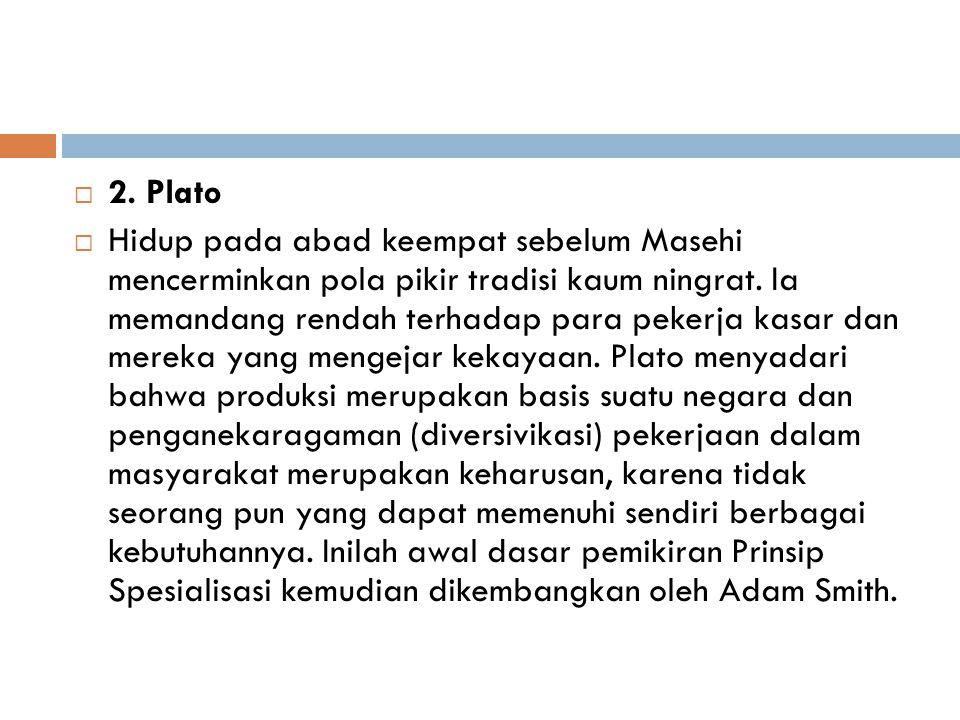 2. Plato