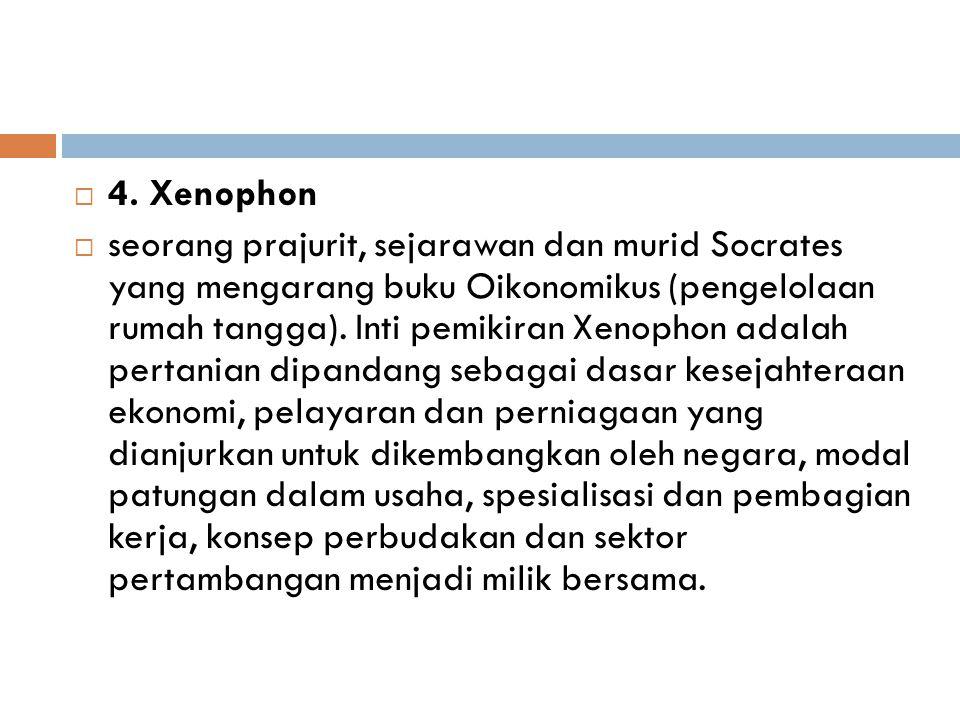 4. Xenophon