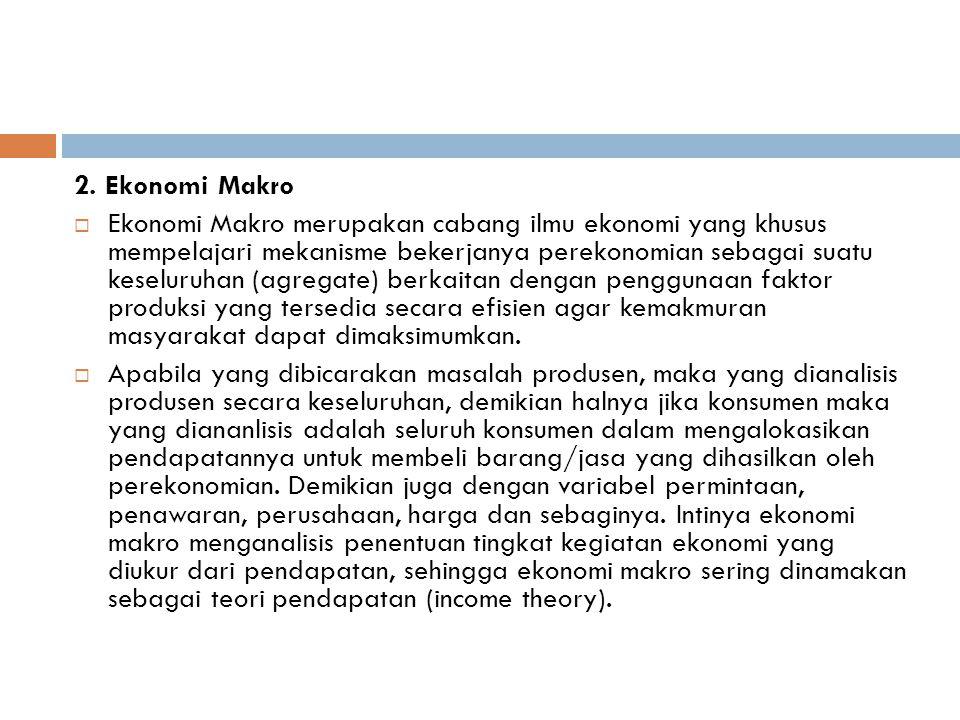 2. Ekonomi Makro