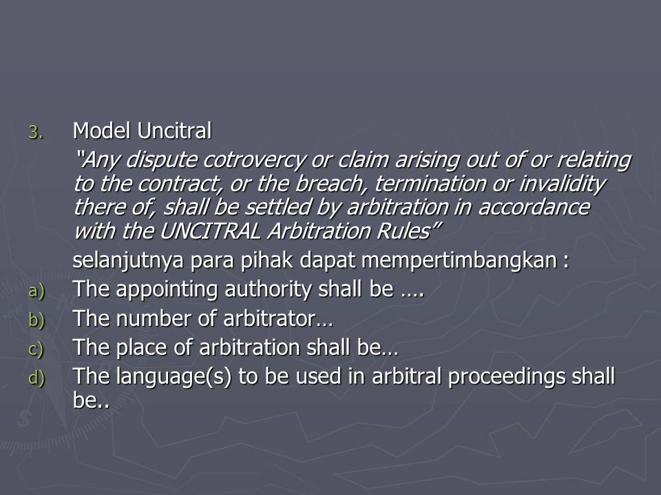 Model Uncitral