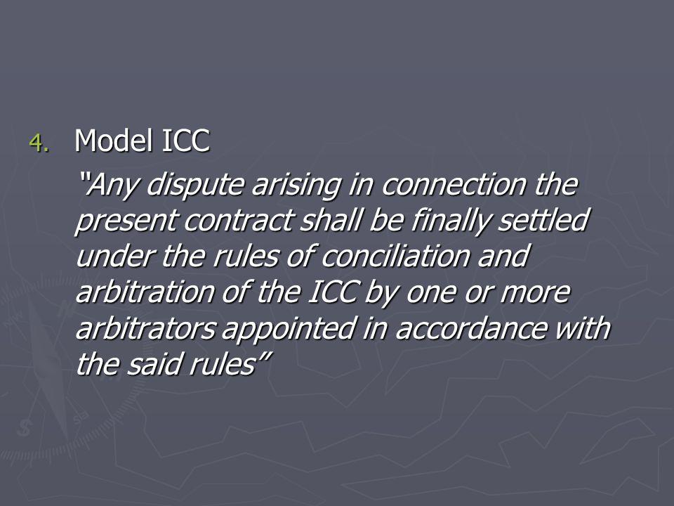 Model ICC