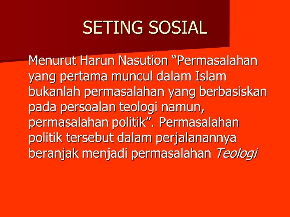 SETING SOSIAL