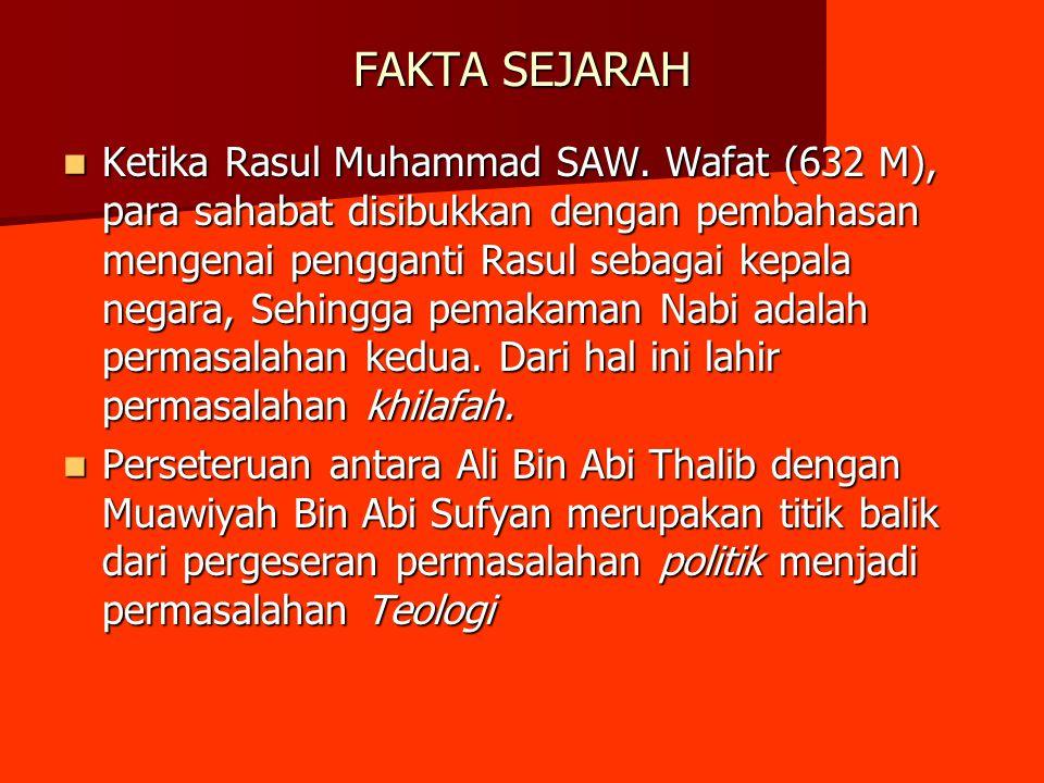 FAKTA SEJARAH