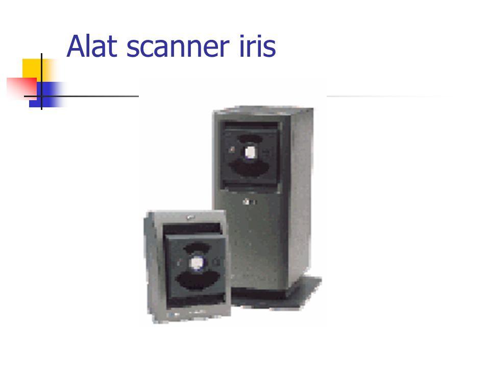 Alat scanner iris