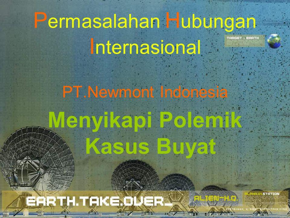 Permasalahan Hubungan Internasional