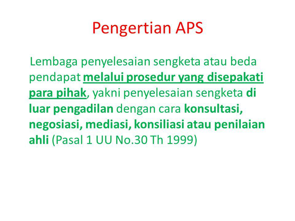 Pengertian APS