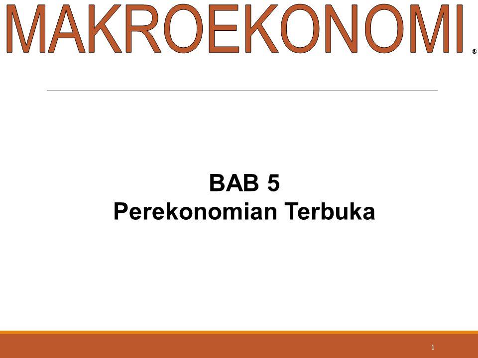 MAKROEKONOMI ® BAB 5 Perekonomian Terbuka