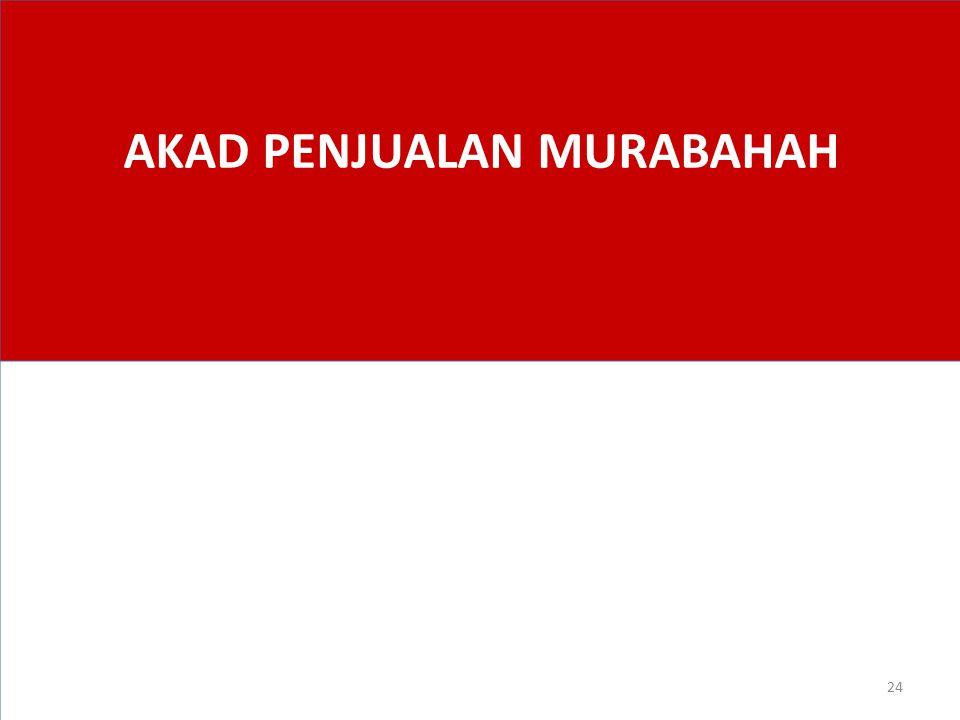 AKAD PENJUALAN MURABAHAH
