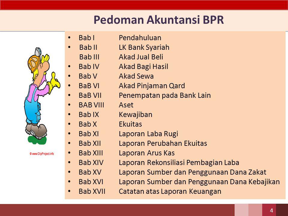 Pedoman Akuntansi BPR Bab I Pendahuluan Bab II LK Bank Syariah