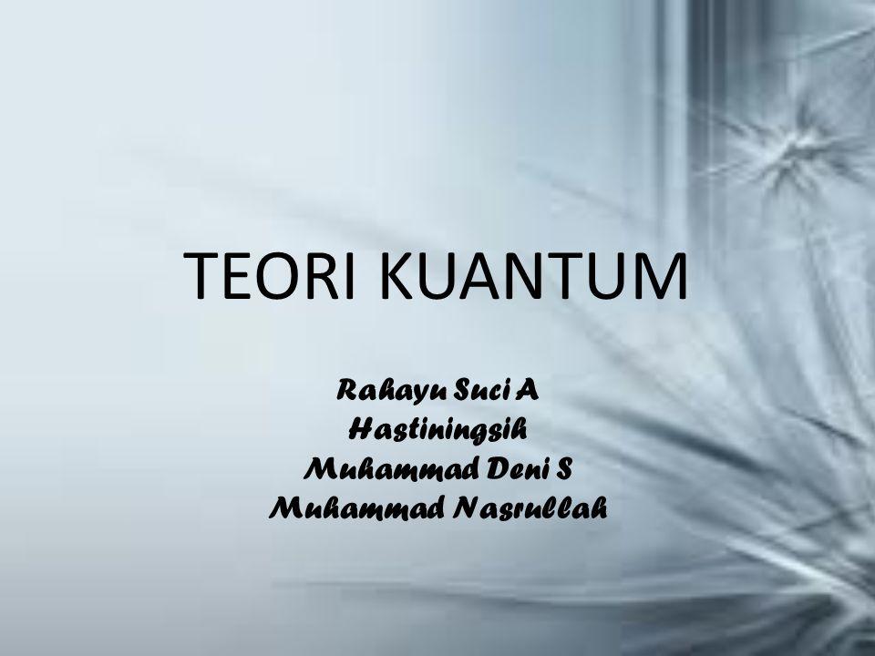 Rahayu Suci A Hastiningsih Muhammad Deni S Muhammad Nasrullah