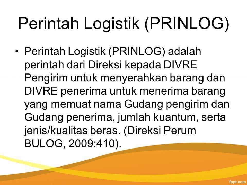Perintah Logistik (PRINLOG)