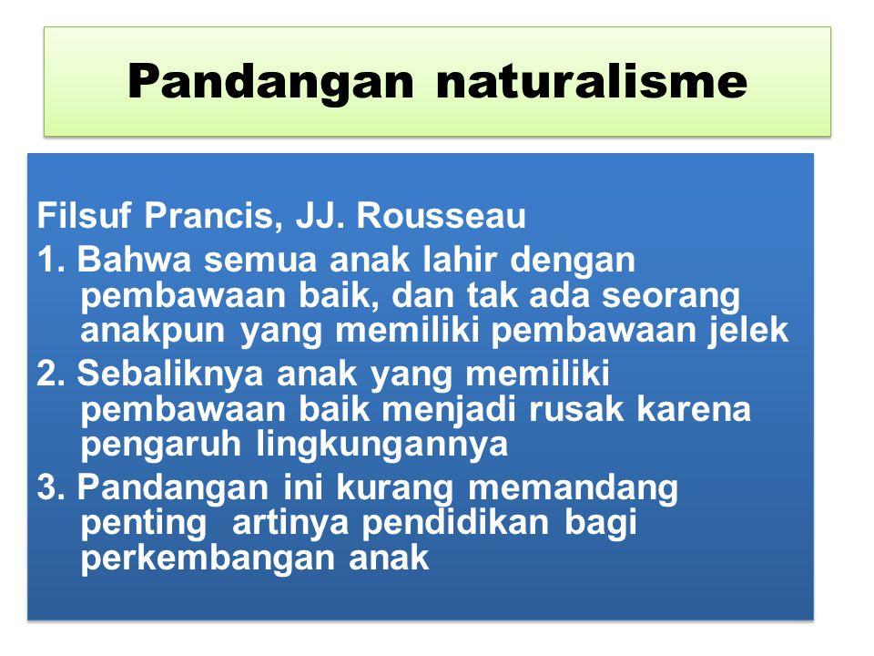 Pandangan naturalisme