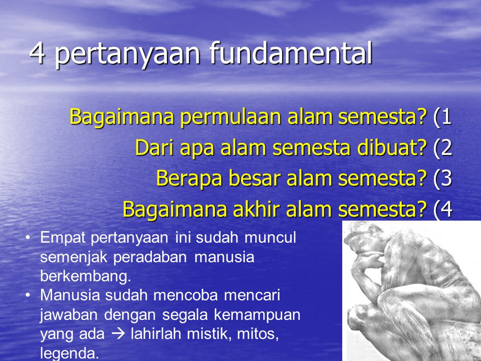 4 pertanyaan fundamental