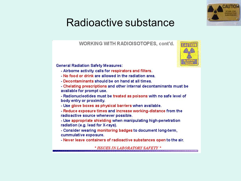 Radioactive substance