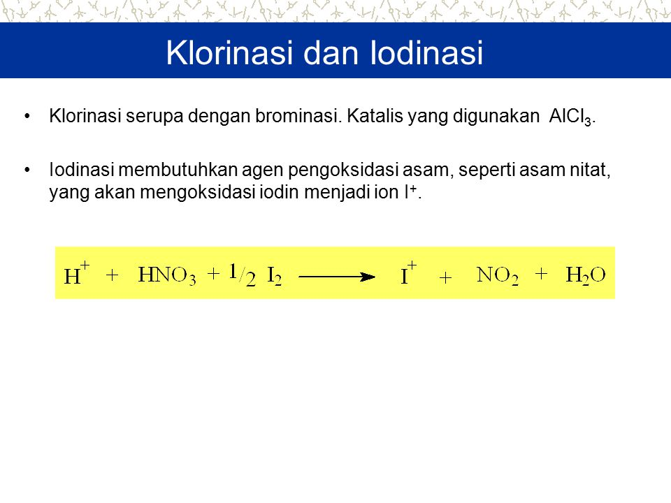 Klorinasi dan Iodinasi