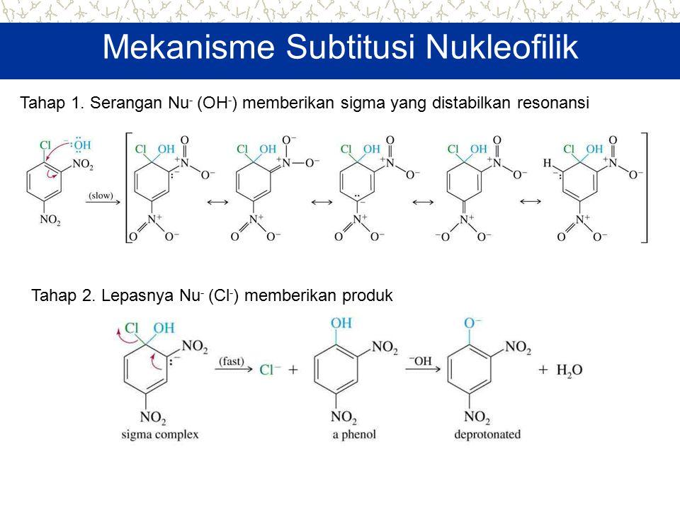 Mekanisme Subtitusi Nukleofilik