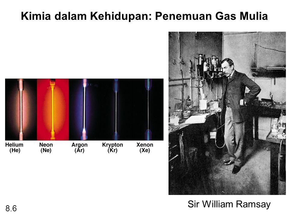 Kimia dalam Kehidupan: Penemuan Gas Mulia