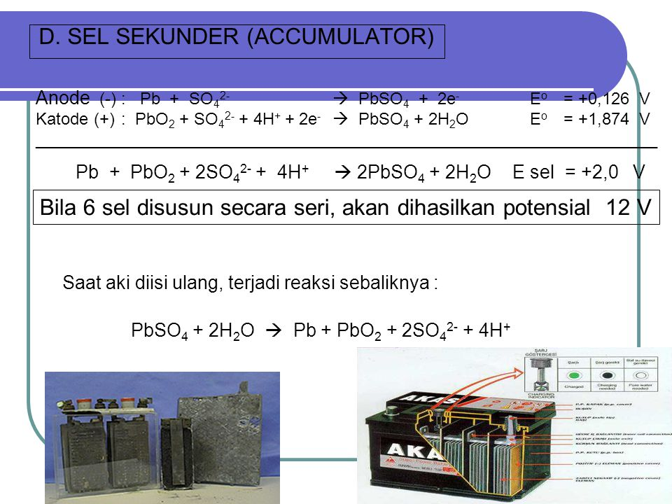 D. SEL SEKUNDER (ACCUMULATOR)