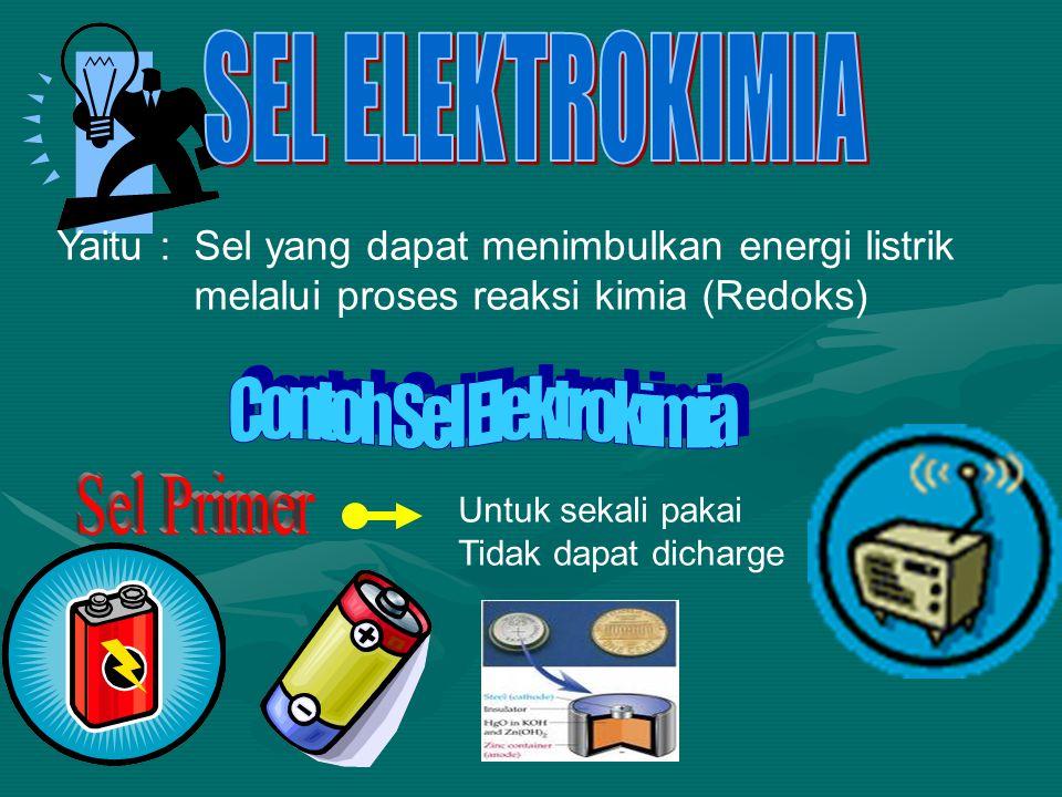 Contoh Sel Elektrokimia