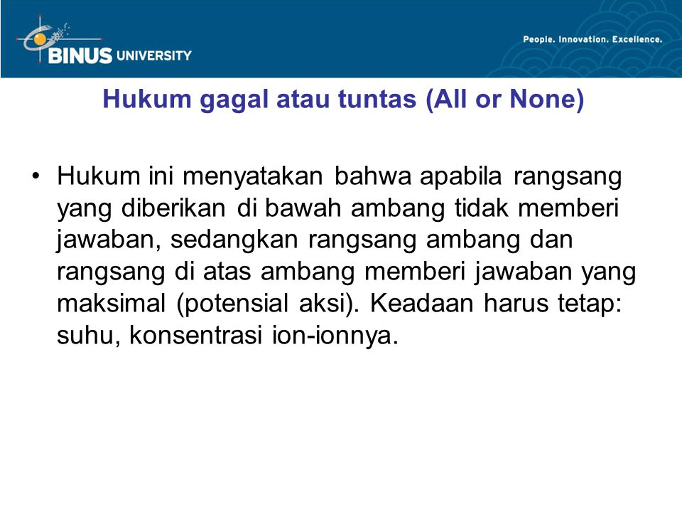 Hukum gagal atau tuntas (All or None)
