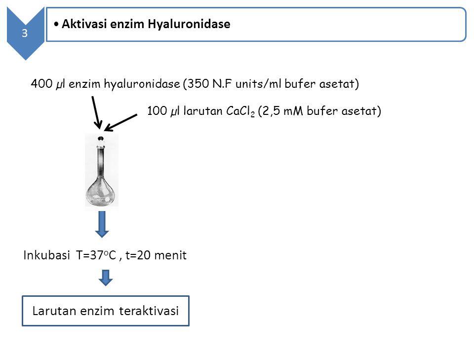 Larutan enzim teraktivasi