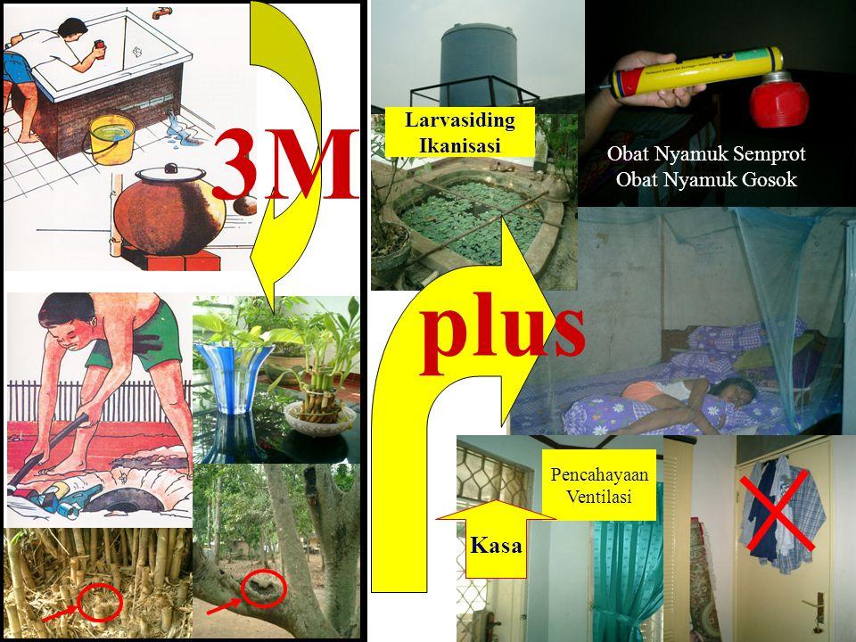 3M plus Kasa Larvasiding Ikanisasi Obat Nyamuk Semprot