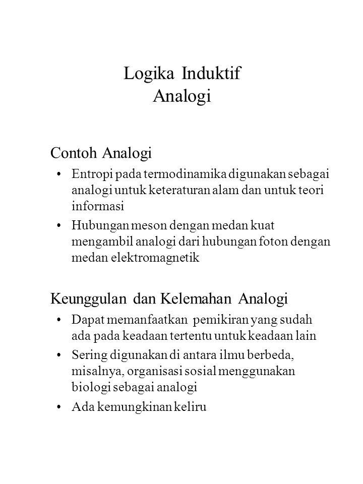 Logika Induktif Analogi