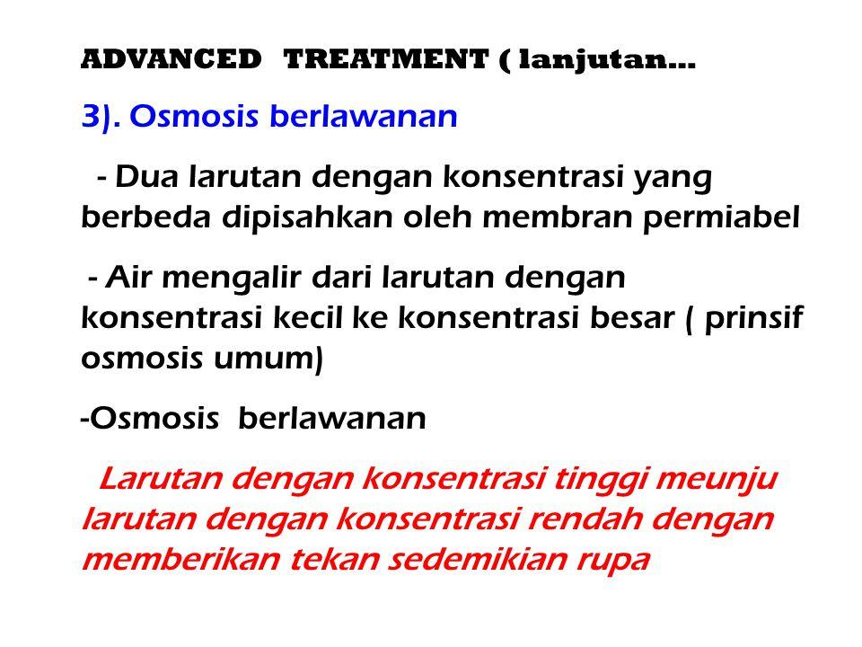 ADVANCED TREATMENT ( lanjutan…