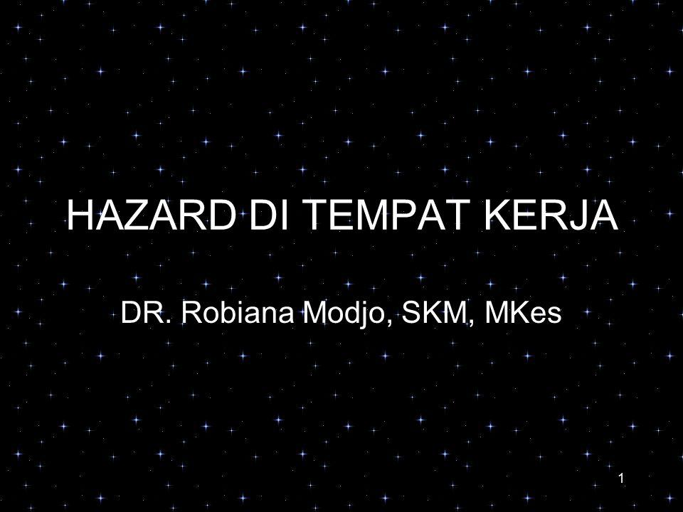 DR. Robiana Modjo, SKM, MKes