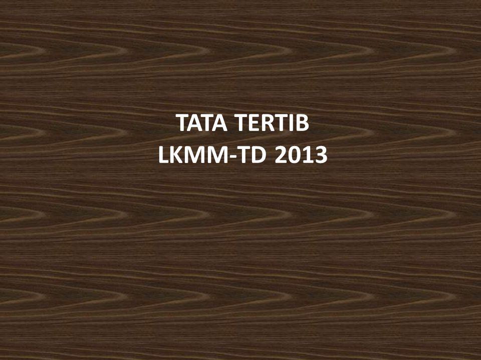 TATA TERTIB LKMM-TD 2013