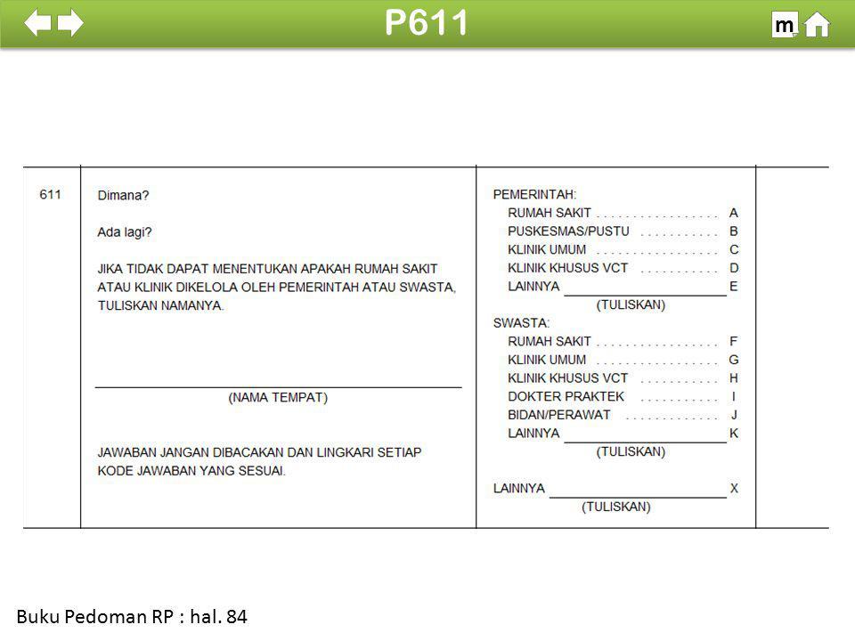 P611 m SDKI 2012 100% Buku Pedoman RP : hal. 84