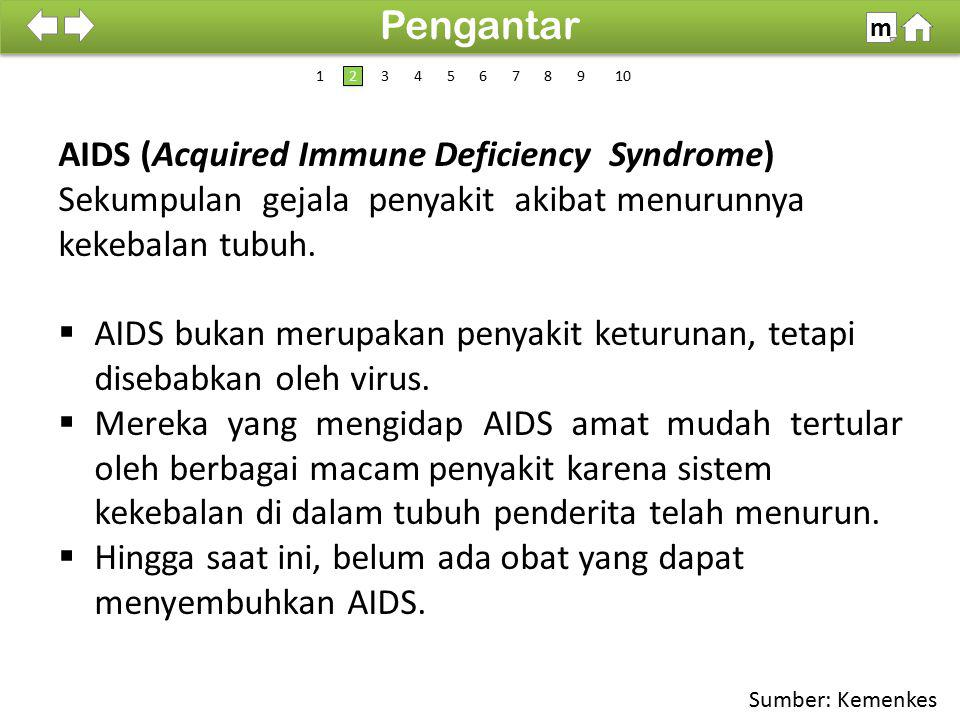 Pengantar AIDS (Acquired Immune Deficiency Syndrome)